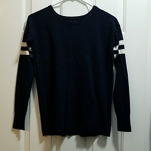 Super Soft Varsity Striped Sweater